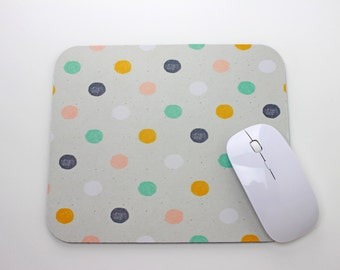 Polka Dot Mouse Pad / MousePad / Mat