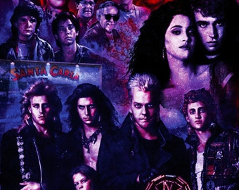 Lost Boys Poster 11X17 Signed by Joel Robinson