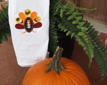 Football Turkey Applique Shirt