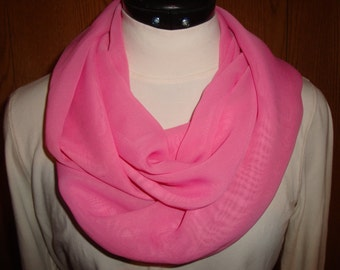 Chiffon Infinity scarf
