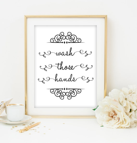 Bathroom Wall Decor Etsy : Items similar to bathroom wall art printable home decor