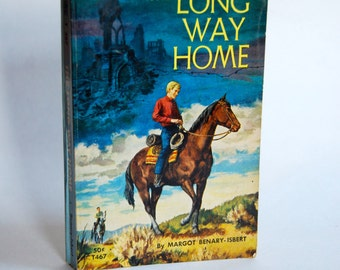 Vintage Western Book, The Long Way Home