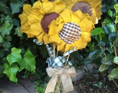 Primitive Sunflower Stems