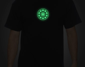 Glow in the Dark Arc Reactor Unisex T-Shirt (SM - 5XL)