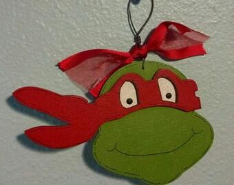 Raphael Red Ninja Turtles Christmas Ornament