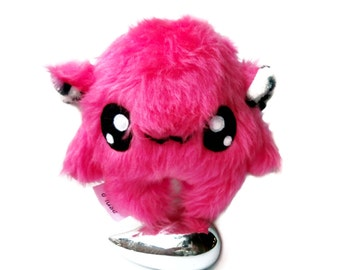 Fluse Kawaii Plush cute Monster  stuffed animal Pink