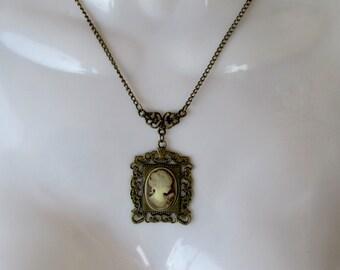 Victorian Timeless, Cameo, Pendant, Fresh Vintage, Edwardian, Wonderful Gift, Gift Ready, Edwardian, Cosplay, Downton Abbey Jewelry