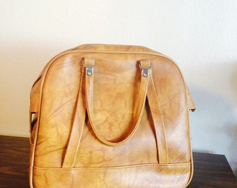 Vintage Carry on Tote Luggage
