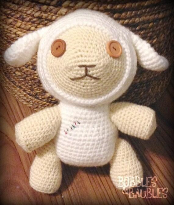 Cotton the lamb Amigurumi from Oblivon Island by ...