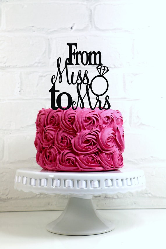Hens Party Cake Topper