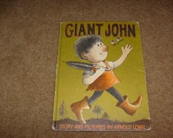 vintage GIANT JOHN  HB book  1964 book used nice