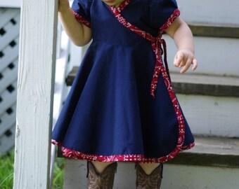 Lollipop Pi Circle Dress Pattern newborn - 14y