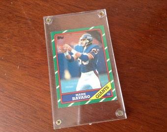 Mark Bavaro NY Giants 1986 Topps Rookie Card #144