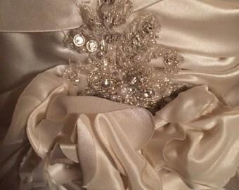 1970 Designer Wedding  Gown