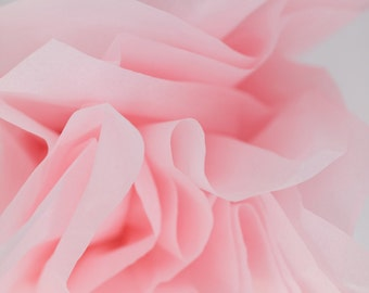 "Light Pink Tissue Paper 24 Sheets | Bulk Tissue Paper in Blush \ Pale Pink - 20"" x 30"" Sheets"