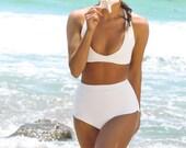 Vintage Inspired Neoprene Bikini