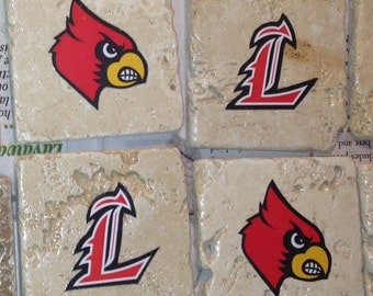 Custom UofL - University of Louisville - Coasters