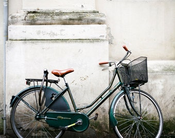 Travel photography, Parma, Italy, Reggio Emilia, Fine Art Print, Bicycle, Europe