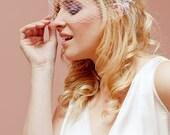 Tiffany Veil - Birdcage - Ivory - Brooch - Hair Accessories - Wedding - Sautoir et Poudrier