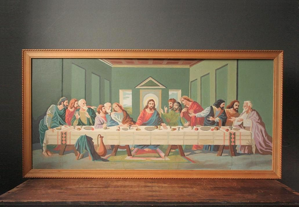 The Last Supper Paint By Number Painting
