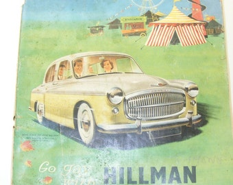 Vintage 1955 THE MOTOR MAGAZINE,  London Motor Show Preview, Car Show Magazine Loaded with Ads