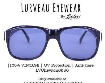 Lurveau® Authentic Goggle Style Vintage Sunglasses