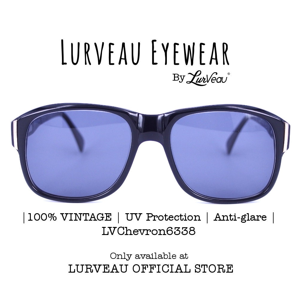 Authentic Goggle Style Vintage Sunglasses 100% Vintage ...