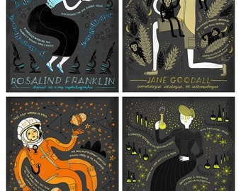 Women in Science: Pick 4 Art Print DEAL!