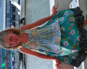 Anna Apron Dress (Sizes 12M to 8)