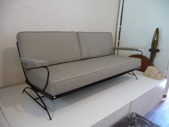 patio sofa mid century modern outdoor patio by xcapevintage