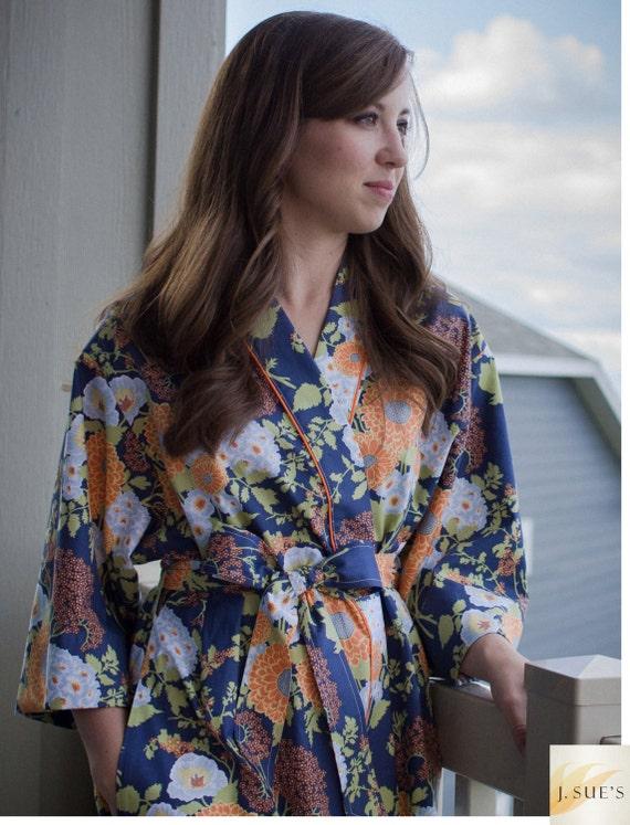 Womens Robe Long Kimono Robe Plus Sizes Dressing Gown Bathrobe