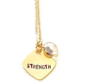 popular items for strength charms on etsy