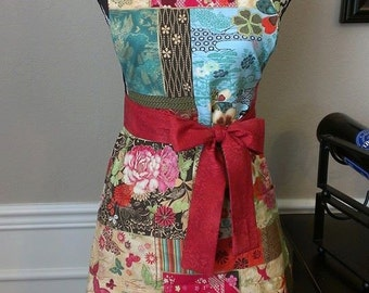 Bold and Bright Woman's Apron