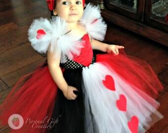 Queen of hearts tutu dress.