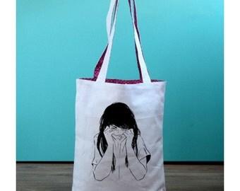 Tote bag Girl