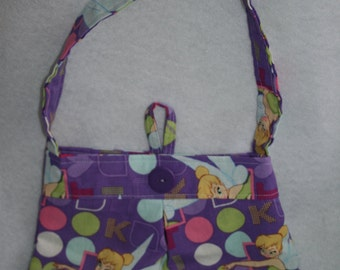 Tinkerbell child's pleated purse