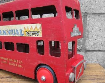 Vintage Bus London Transport Kids Childrens Display