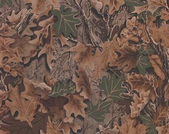 Real Look Forest Leaf Camouflage Wallpaper   Mancave, Boys Decor, Hunting,  Rustic,