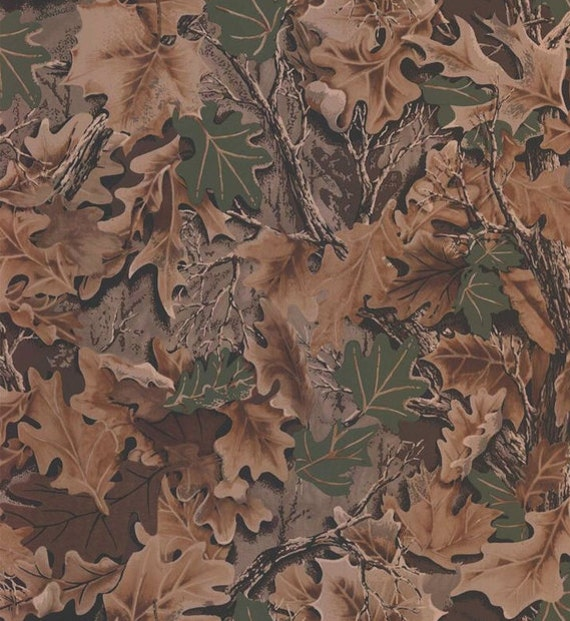 Real Look Forest Leaf Camouflage Wallpaper Mancave Boys