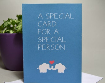 For a Special Person Card
