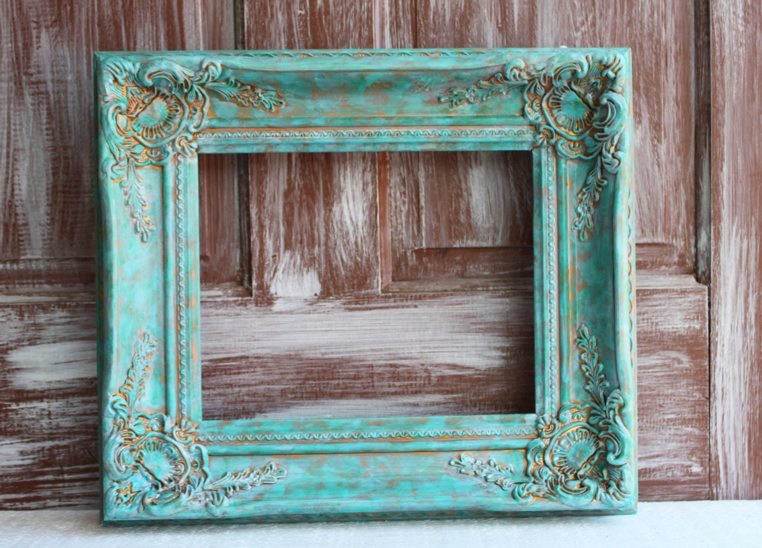 large picture frame wedding photo prop baroque ornate painte