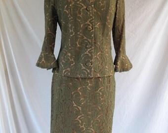 1960s Suit Vintage Lace