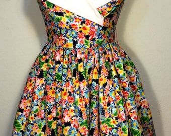 FREE   SHIPPING  Lillie Rubin Sun Dress