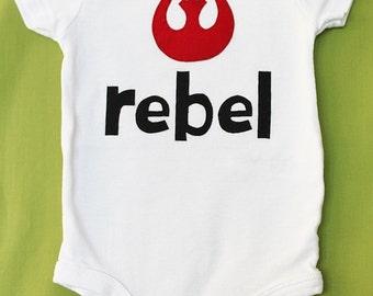 Rebel Alliance Star Wars Onesie