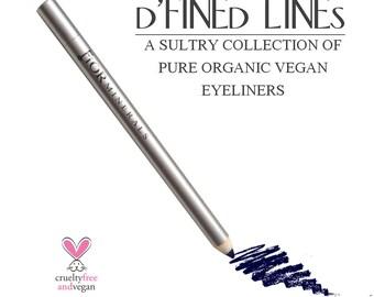 ORGANIC EYELINER VEGAN Mineral Eyeliner Pencil~ All Natural Gluten and Soy Free Eyeliner Pigment Pencil