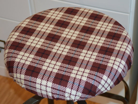 Barstool cover seat cushion cover counterstool cover - Housse pour tabouret rond ...