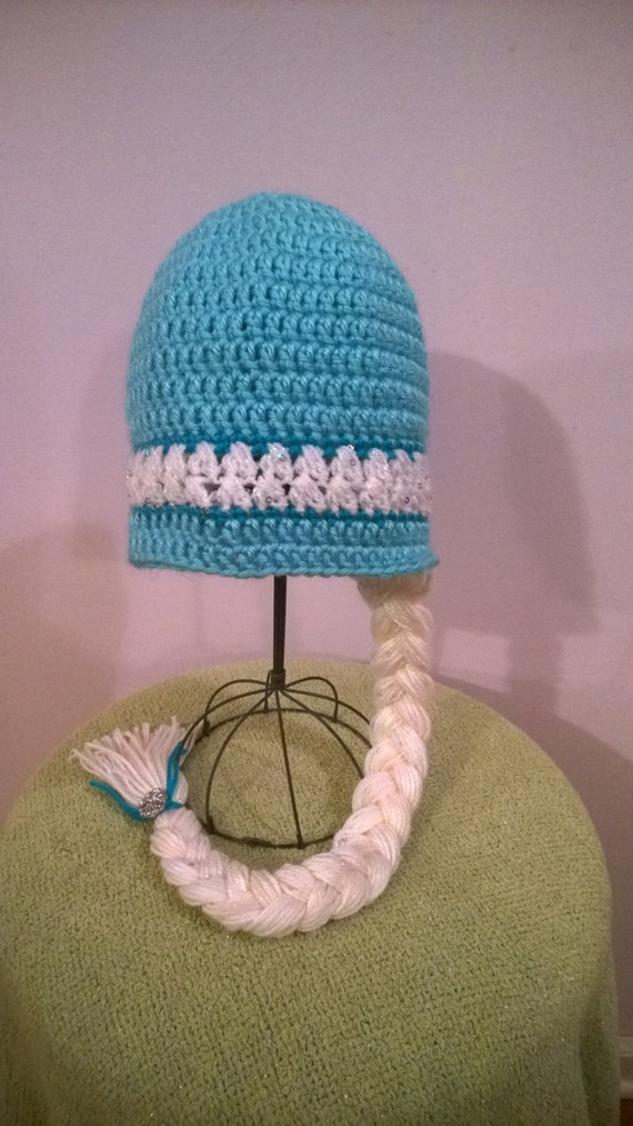 Elsa Inspired Hat ((Sparkly Snow Queen Hat))