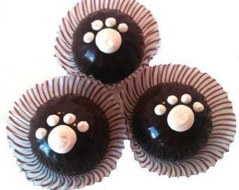 RRRuffles - Dog Truffles - Carob Dog Candy - 2pk