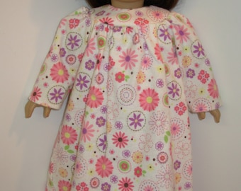 "AG 18"" 'Flower Power' Nightgown, American Girl Doll Clothes"