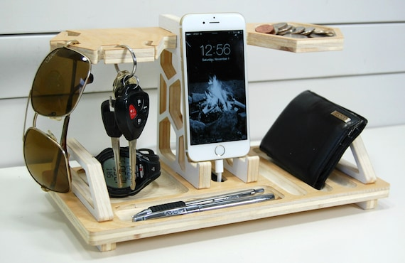 Charging Station and Catchall Honeycomb